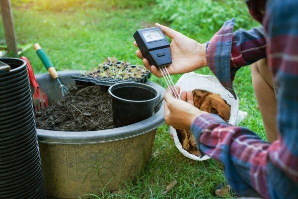 To measure soil pH